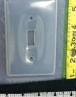 Switch Plate Resin Mold 5677 - make your own switchplate covers $3.99