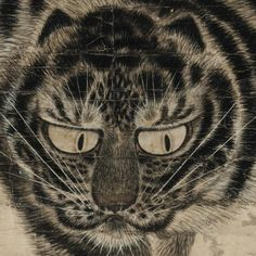 [Joseon Dynasty (18th century)] A Ferocious Tiger