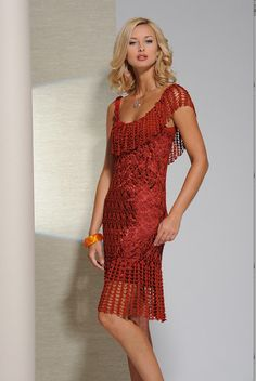 Simply gorgeous………… Red Crochet