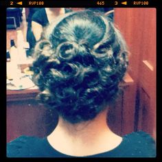prom updo! (: Homecoming Updo, Prom Updo, Updos, Crochet Necklace, Dreadlocks, Hair Styles, Beauty, Fashion, Up Dos