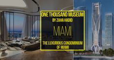 One Thousand Museum by Zaha Hadid: The luxurious condominium of Miami #architecturephotography #homedecor #decor #architecturelovers #building #arquitectura #arquitetura #archilovers #home #homedesign #architettura #architectureporn #architects #Arch #Archdaily #RTF #architecture #arquitectura #sketch #design #elevation #art #architectdrw #architecturestudent #architexture