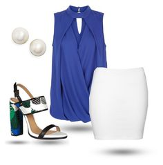 """""""Untitled #338"""" by sylvia-tall ❤ liked on Polyvore featuring Dsquared2, New Look and Kate Spade"""