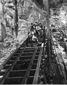 Beaver Creek Tram ~ Cripple Creek District ~ Colorado ~ 1900