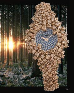 Focus on Damiani in Jewelry chapter. #jewels #jewelry #Damiani #watch #pinkgold #gold #diamond #sapphires