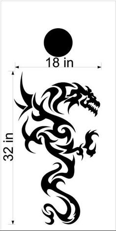 Dragon Cornhole Board Vinyl Decal Sticker Graphic Custom Text Bean Bag Toss DG32