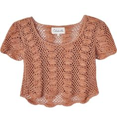 Online Fashion Shop Shop women fashion accessories and clothes Crochet Tank Tops, Crochet T Shirts, Crochet Cardigan, Crochet Clothes, Knit Crochet, Summer Knitting, Pink Turquoise, How To Wear, Crochet Coat