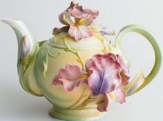 Franz Porcelain Ирис: чайник - Интернет магазин фарфора Барановка