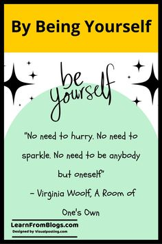 By being yourself - Explanation of Quotes I Feel Bored, Bored At Work, Emotional Intelligence Leadership, Life Happens, Shit Happens, Write Your Own Story, Adventurous Things To Do, Confidence Level, Room Of One's Own