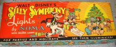 1930s Disney Silly Symphony Christmas Lights Noma (02/24/2011)