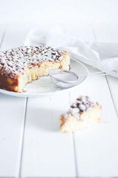 Lemoncake with ricotta - ricottakage med citron og mandler