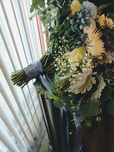 Winter Wedding Flowers, Blue Bouquet, Greenery, Floral Design, Succulents, Bridesmaid, Pretty, Plants, Christmas