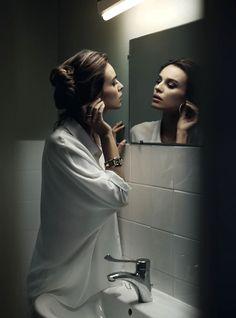 Kasia Smutniak by Vincent Peters Vogue Italia, March 2013