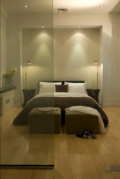 ♂ Modern Minimalist Bedroom design interior