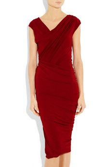 The perfect red dress (Donna Karan)