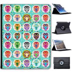 Big-Eye-Cute-Owl-Wallpaper-Folio-Cover-Leather-Case-For-Apple-iPad
