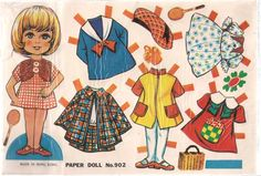 Patty'S Playmate Paper Doll With Stand Made IN Hong Kong Unopened With Header | eBay