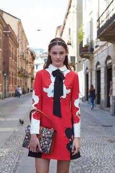 Aleyna FitzGerald in Gucci by Stefania Paparelli for Australia's Next Top Model season 10, Milan 2016