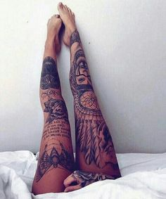 #girlswithink #legs #tattooedbabes