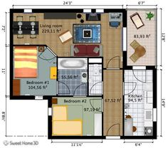 VERY COOL WEBSITE. enter the dimensions of your room and the ...