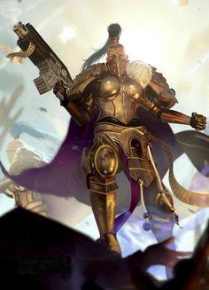 """haaaaaaaaave-you-met-ted: """"The Emperor's Elite (The Sisters of Silence) by kokoda39 """""""