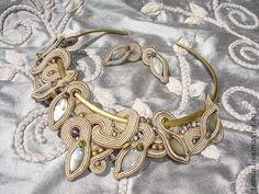 Колье и серьги (SER-SET2) - колье,вечернее украшение,эксклюзив,эксклюзивный подарок