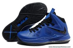 New Nike Lebron X (10) Royal Blue Black