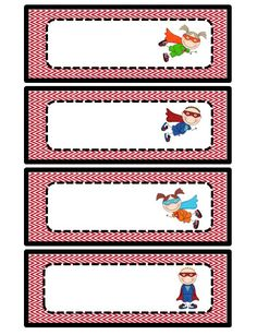 Teaming Up To Teach: Superhero Classroom Theme.and a freebie! Use these for classroom helpers: Wonder boy and Wonder girl Superhero Classroom Theme, 2nd Grade Classroom, New Classroom, Kindergarten Classroom, Classroom Themes, Superhero Name Tags, Superhero Preschool, Superhero Template, Classroom Helpers