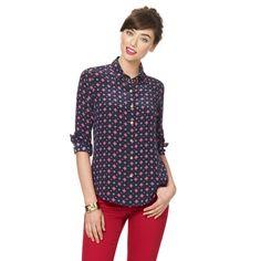 Foulards Silk Shirt on C. Wonder
