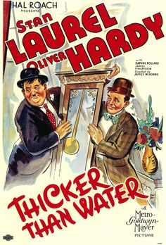 Laurel and Hardy Thicker Than Water (1935) Hal Roach Film https://www.youtube.com/user/PopcornCinemaShow