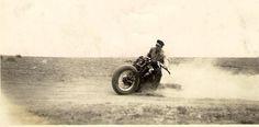Kicking up dirt!