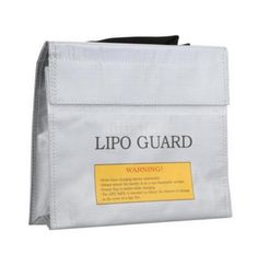 JMT High Quality Safe Guard Charge Sack 18.5 * 7.5 * 6cm  Fireproof Explosionproof RC LiPo Battery Safety Bag  #Affiliate
