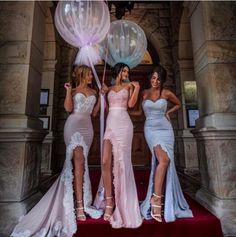 Prom Dresses,Evening Dress,Sweetheart Mermaid Prom Dresses ,Side Slit