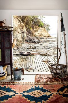 Located off Bruny Island in southern Tasmania, this small island formerly belonged to a writer, painter and poet. And now a family has tran...