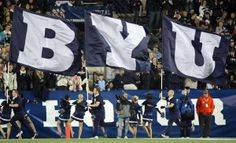 Ryan Teeples: A behind-the-scenes look at BYUtv, ESPN on BYU football game day Byu Football Game, College Cheerleading, Brigham Young University, Bowl Game, Relief Society, Love And Light, Espn, Lds, Utah