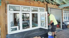 The front windows going in to Toowoon Bay Reno makes such a big difference! Casement windows by Wideline. www.wideline.com.au