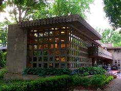 Turkel House. 1956. Detroit, Michigan. Usonian style. 1956. Frank Lloyd Wright