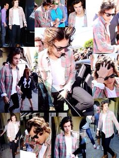Harry in plaid is the reason I cry at night