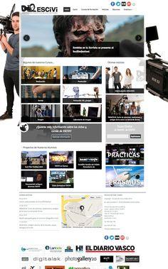 ESCIVI, Escuela de Cine y Video de San Sebastián, nos encargó el diseño y desarrollo de su nueva web corporativa.  http://www.lantalau.com/es/desarrollo-trabajo-cliente/escivi-web