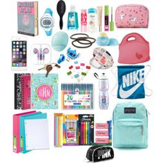 back to school what's in my backpack