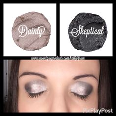Younique Splurge Cream shadow Dainty & Skeptical