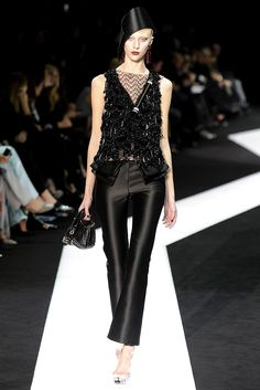 Armani Privé Spring Couture 2013 - Slideshow - Runway, Fashion Week, Reviews and Slideshows - WWD.com