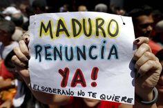 Los caraqueños salieron a la calle este sábado para exigir la renuncia de Nicolás Maduro. El primer paso de la Hoja de Ruta de la Unidad que buscará a trav