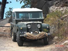 Landy Series I roped