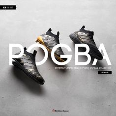 Introducing the Adidas x Paul Pogba Ace 17+ Pure Control.  DISCLAIMER: EACH INDIVIDUAL ITEM OF THE ADIDAS PAUL POGBA CAPSULE COLLECTION IS LIMITED TO ONE PER CUSTOMER. Extremely limited quantities available now at WorldSoccerShop.com