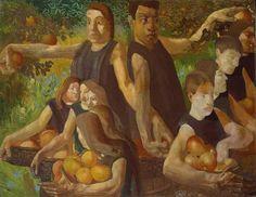 Stanley Spencer Apple Gatherers