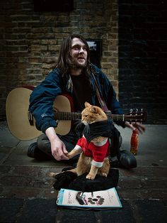 james and bob the cat | Flickr - Photo Sharing!