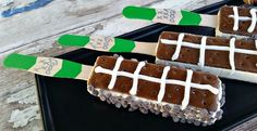 Football Ice Cream Sandwiches #recipe via Chase the Star http://www.yummly.com/recipe/Football-Ice-Cream-Sandwiches-1072623
