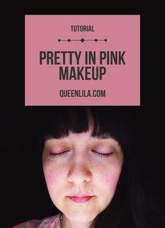 Pretty in pink makeu