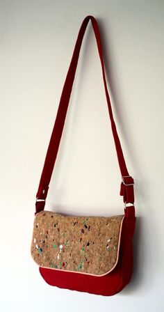 Patron et Tutoriel de La Besace Pollock (3) Julia, Casual, Shoulder Bag, Bags, Diy, Fashion, Stuff Stuff, Sewing, Retro Look