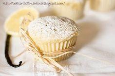 Muffin vaniglia e limone....al microonde